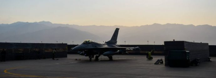 F-16 deployed to Southwest Asia